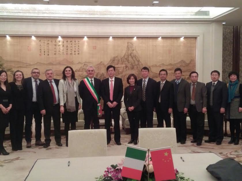Accordo tra Macerata e la città cinese di Taicang