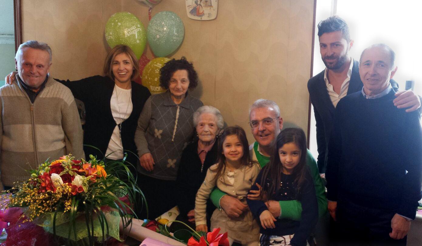 I cento anni di Maria Bonfigli