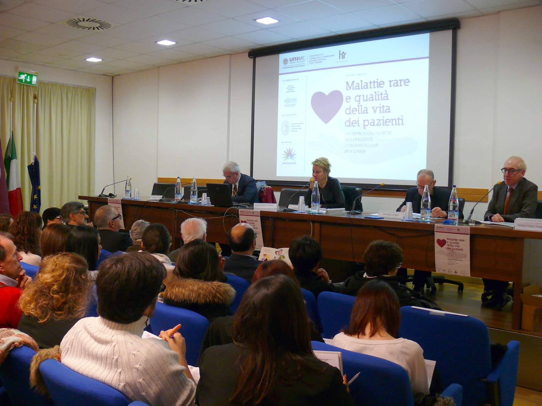 Convegno UNIMC sulle malattie rare. Il 29 giornata internazionale