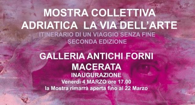 Adriatica la via dell'arte. A Macerata da venerdì 4