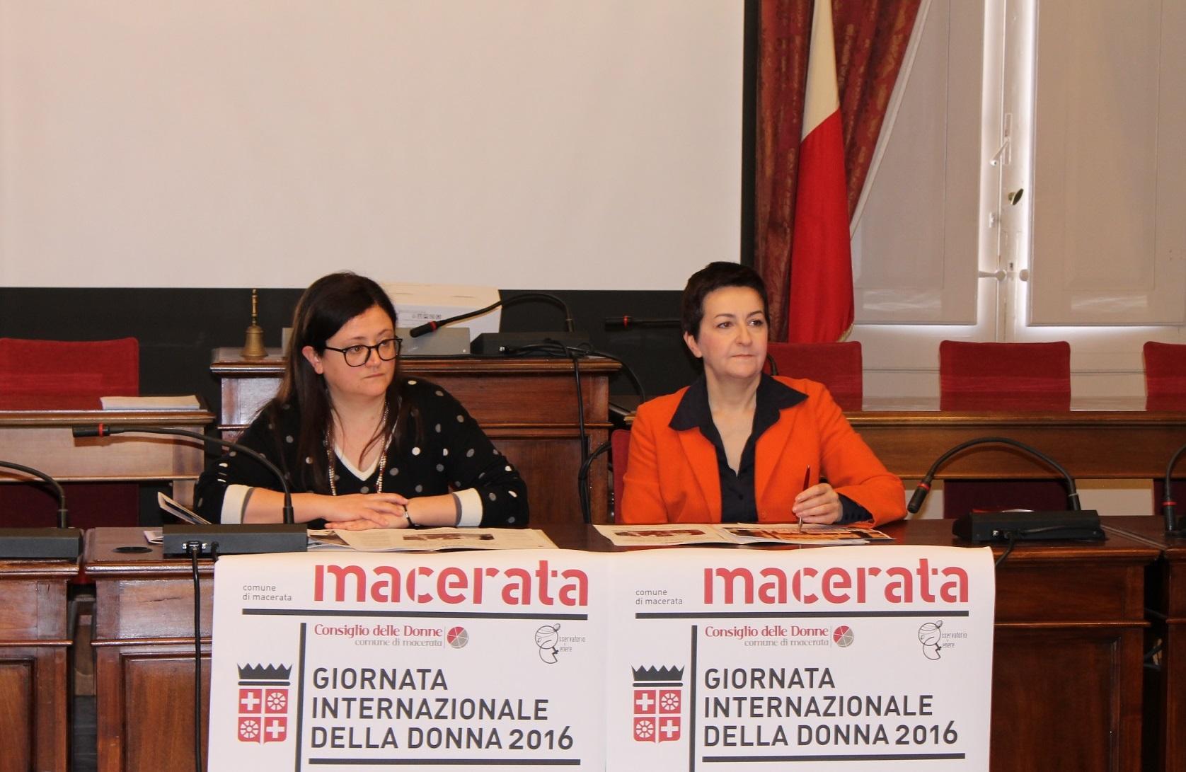 Da domenica iniziative a Macerata per la Giornata della Donna