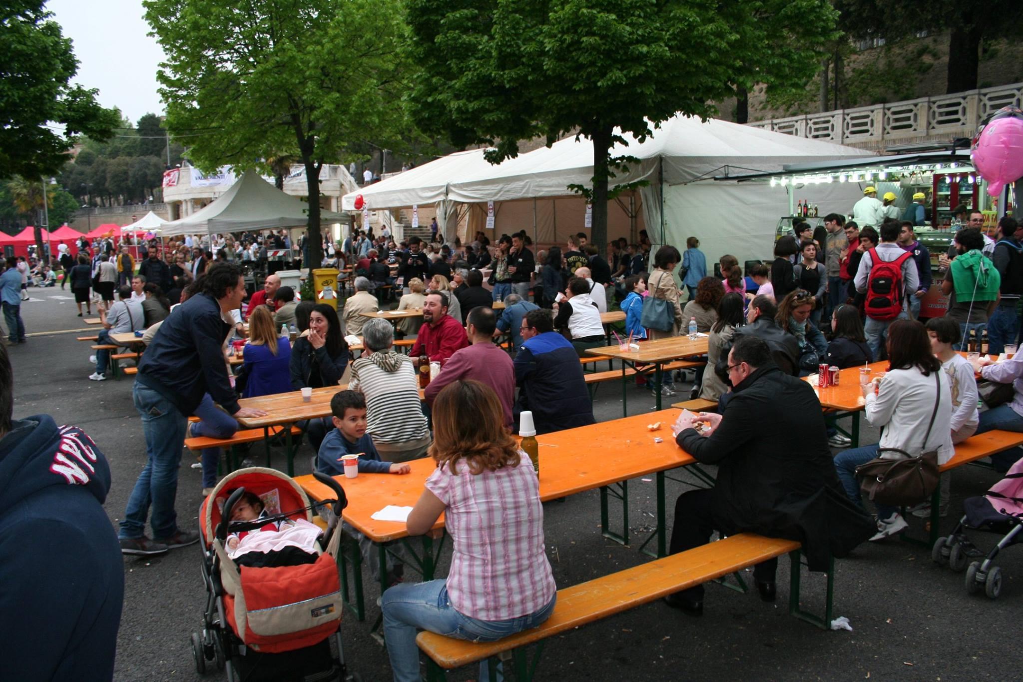 Giovedì e venerdì la festa ai giardini Diaz rinviata il 1° maggio