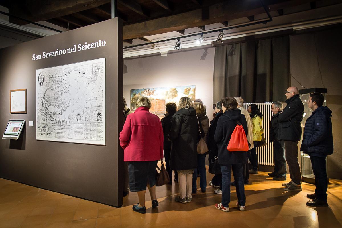 Affluenza record il 25 aprile alla pinacoteca di San Severino