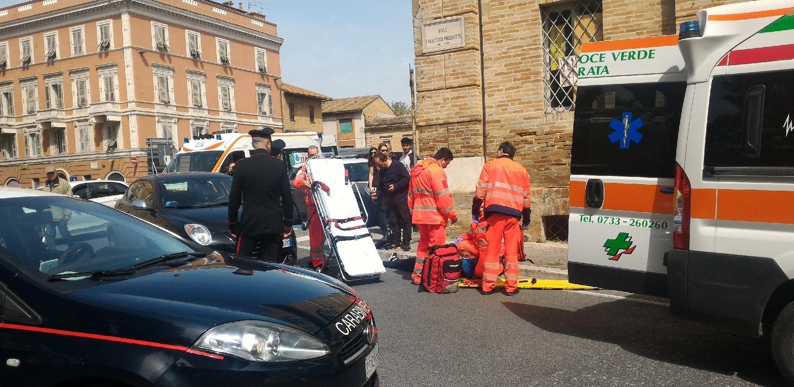 Mattinata di incidenti stradali a Macerata. Tre ragazze ferite