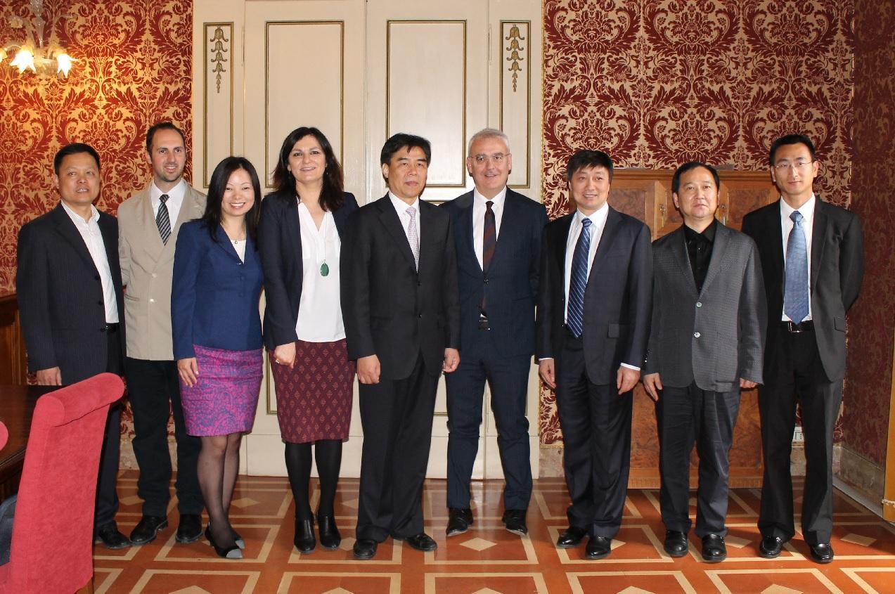 Delegazione di Taicang visita Macerata. Partnership e scambi
