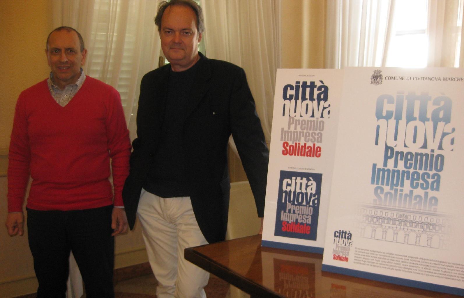 Civitanova: presentato il logo del Premio impresa solidale