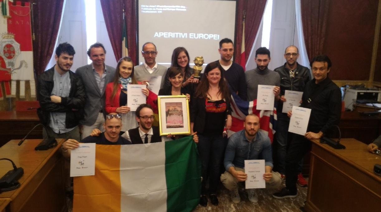 L'Eugenio d'oro per gli aperitivi europei all'Hotel Lauri