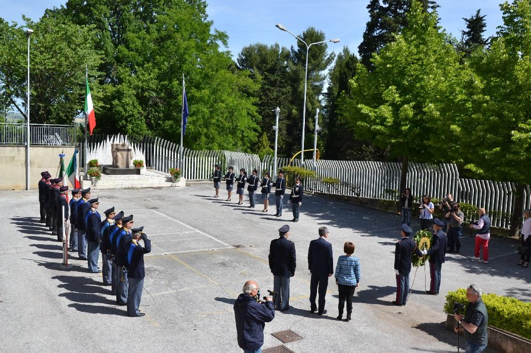 Cerimonia a Macerata per il 164° della Polizia di Stato
