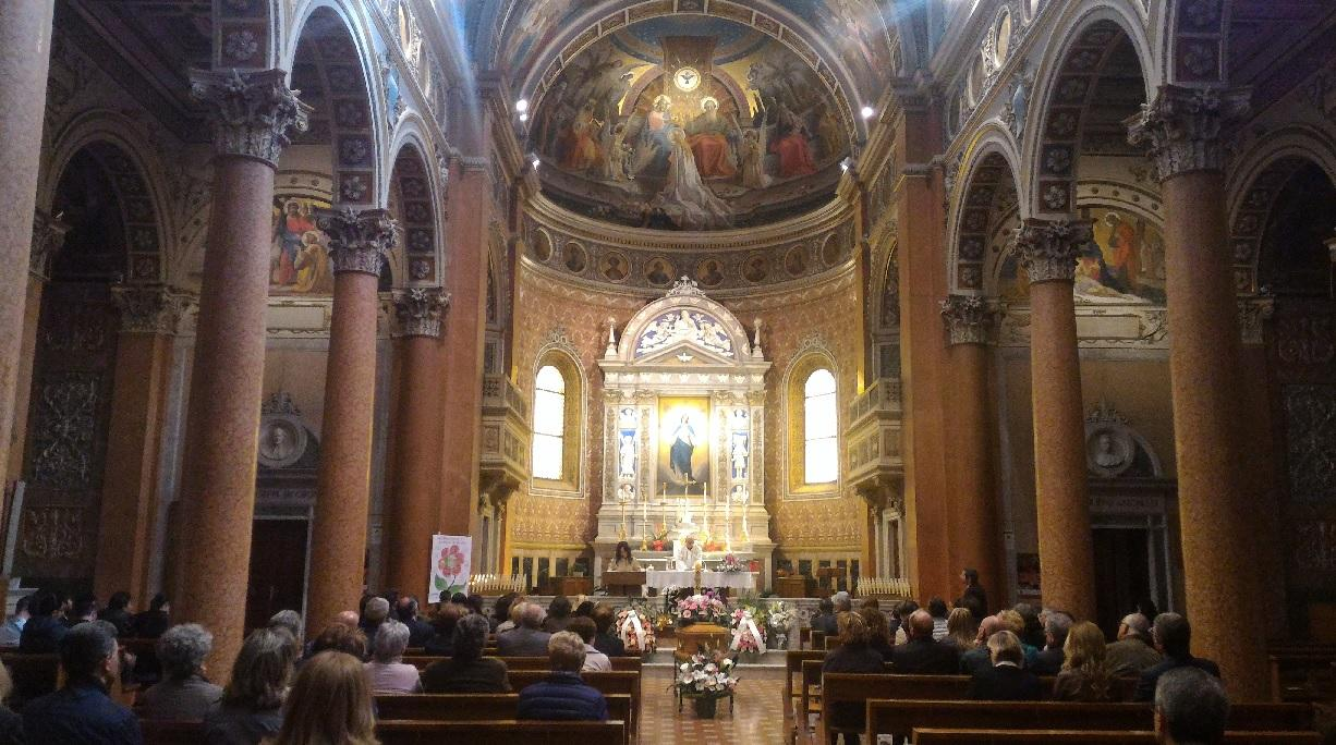 A Macerata i funerali della giornalista Rai Rina Rossetti