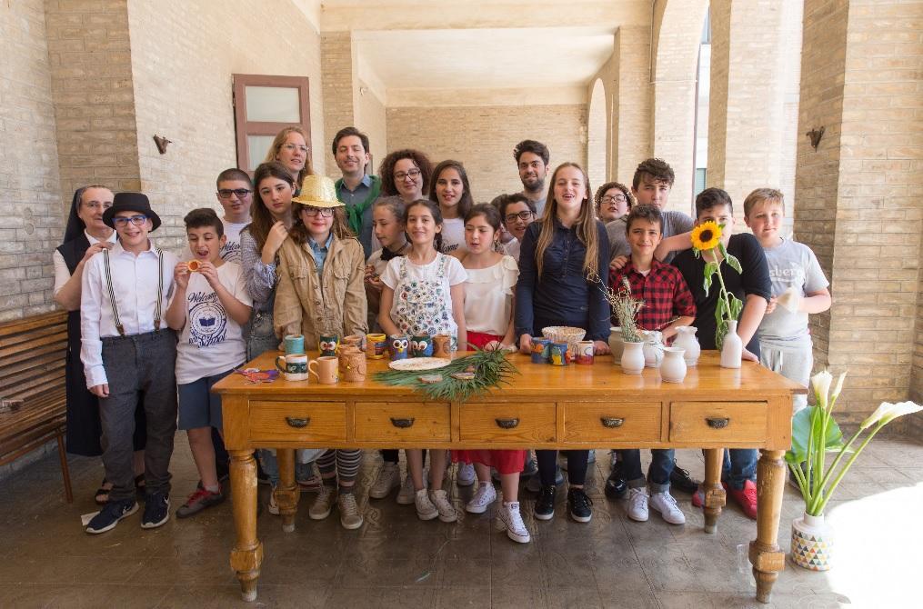 Festa per il primo anno della scuola media San Giuseppe