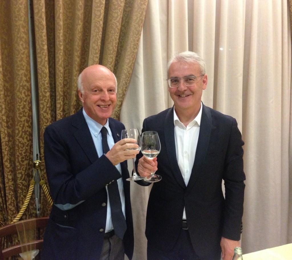 Enrico Ruffini e Romano Carancini