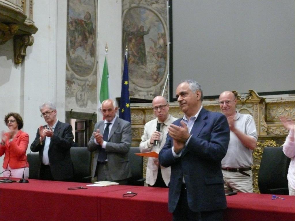La proclamazione di Francesco Adornato rettore Unimc