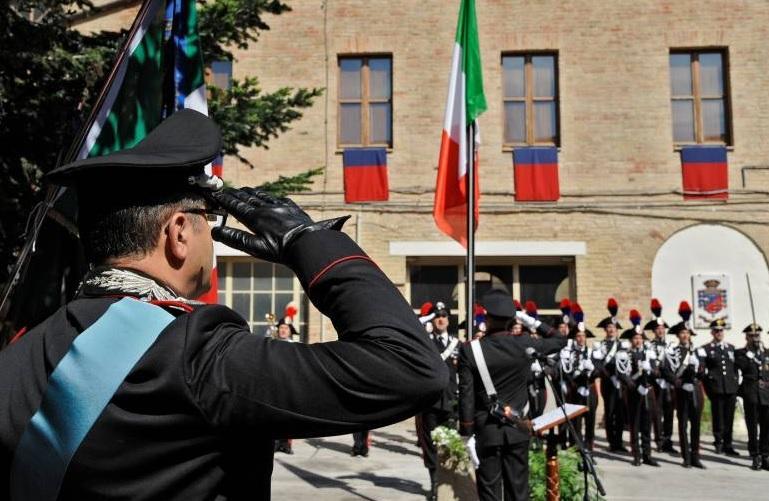 L'Arma dei Carabinieri ha 202 anni. Cerimonia a Macerata