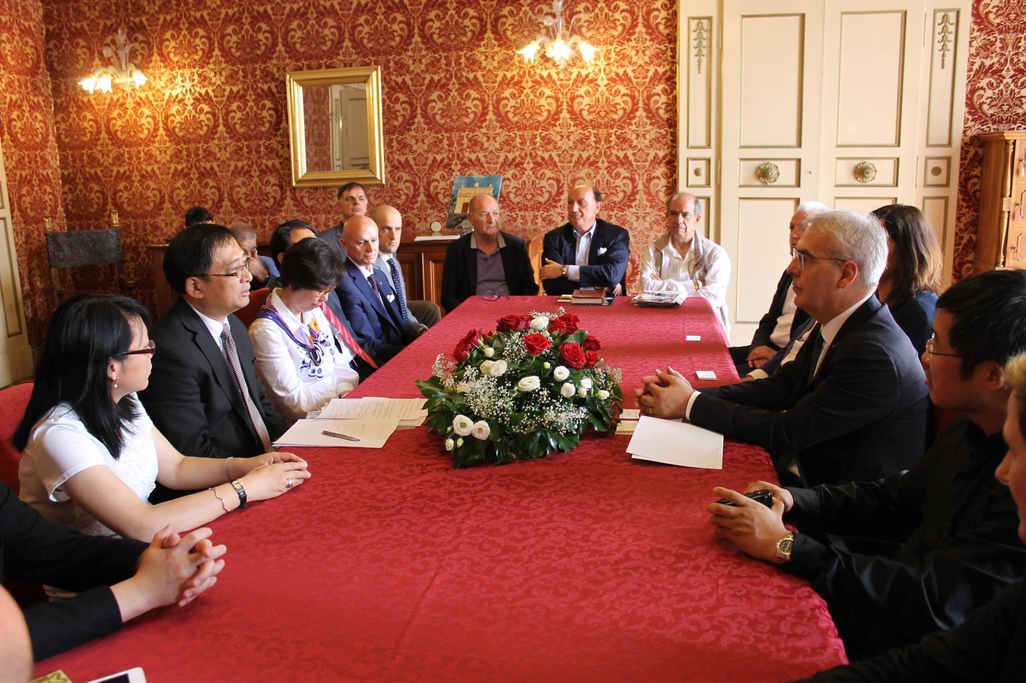 Macerata-Cina, incontro con la delegazione di Xuhui