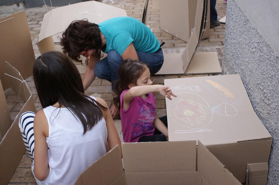 Esplorazioni ludiche per bambini a Borgo Ficana