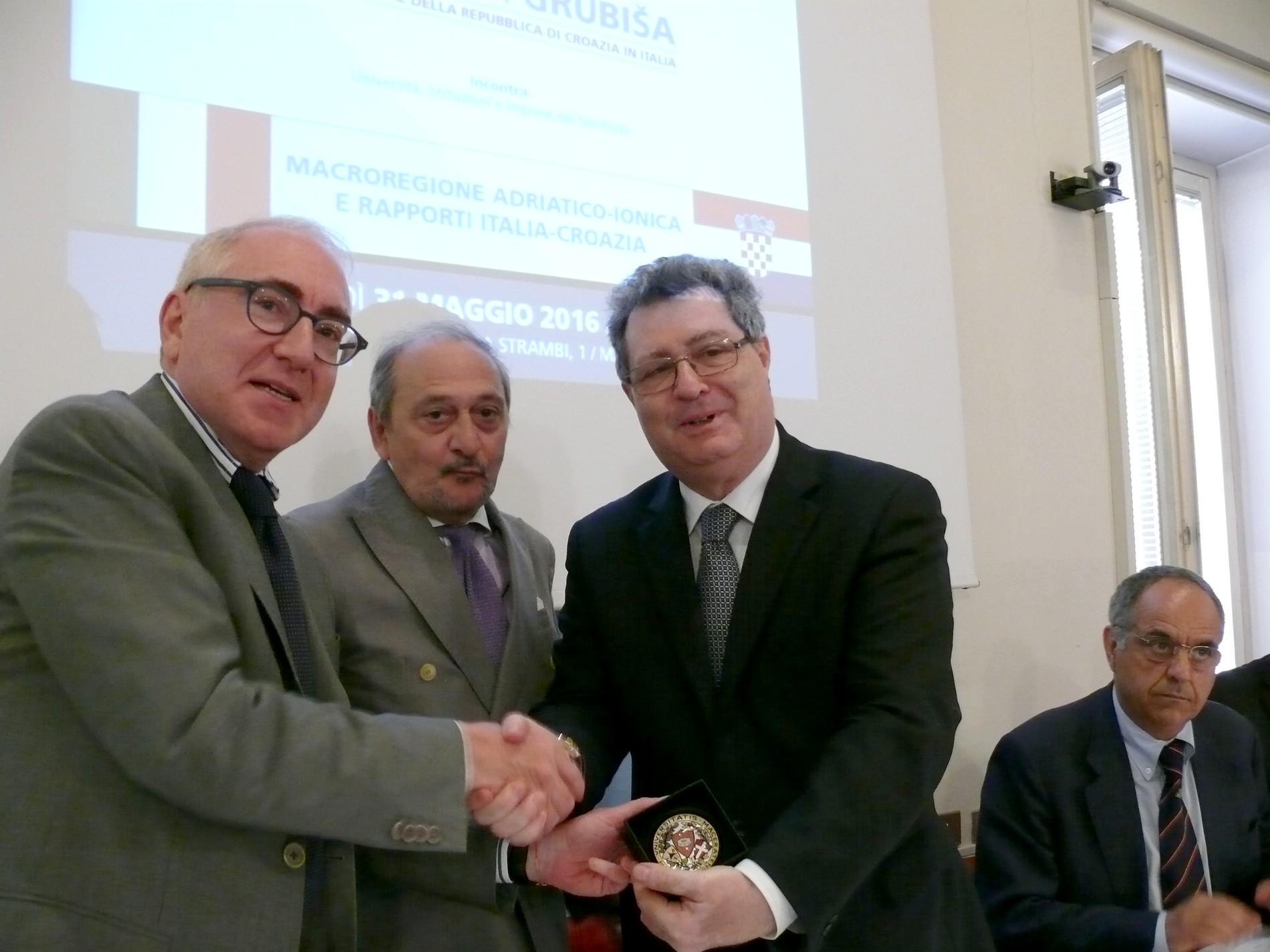 L'ambasciatore della Croazia all'Università di Macerata