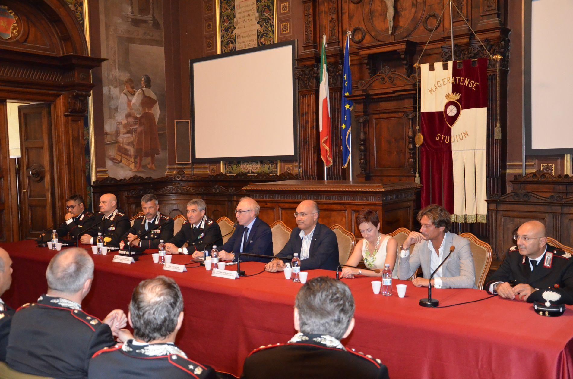 Accordo Unimc e Arma dei Carabinieri per la formazione
