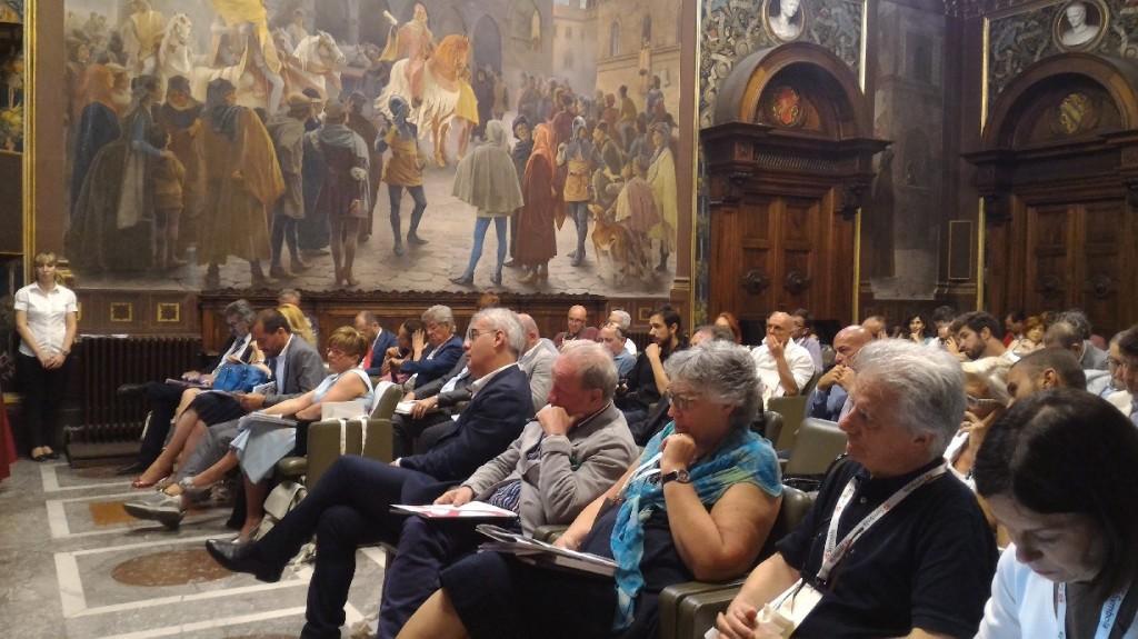 Il primo appuntamento del Festival nell'aula magna dell'Università di Macerata