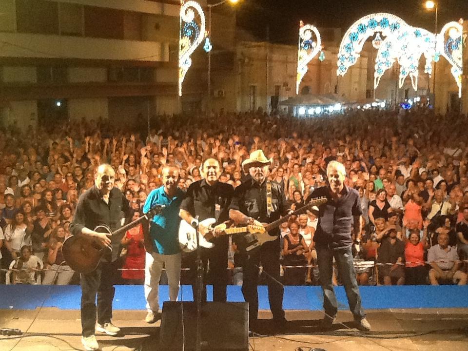 Dik dik, concerto in piazza XX Settembre a Civitanova