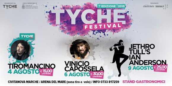 Tyche Festival con Tiromancino, Capossela e Ian Anderson