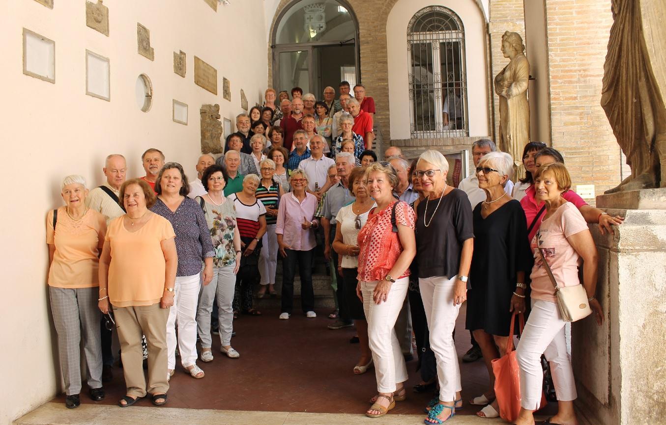 Il Sindaco incontra turisti della città gemellata di Weiden
