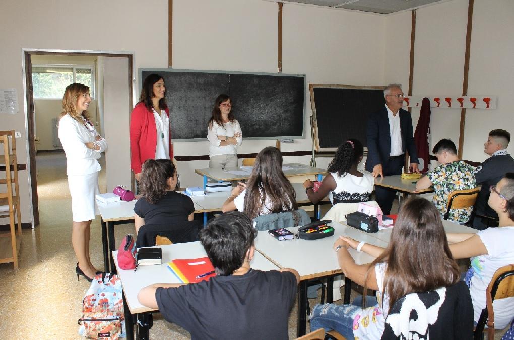 Macerata, iniziato l'anno scolastico per le scuole trasferite dopo il sisma