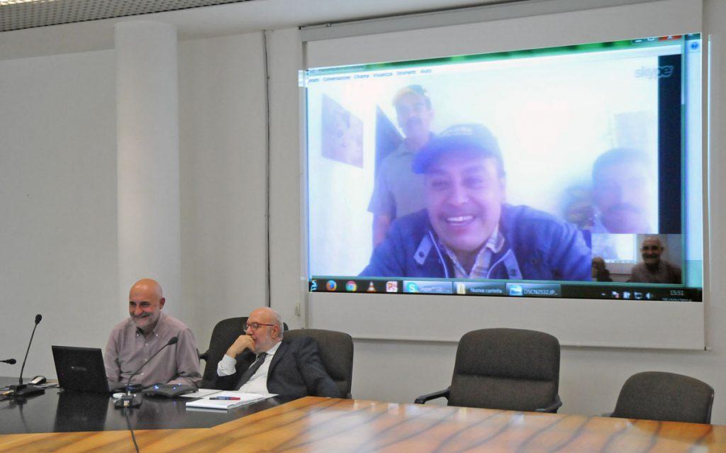 Il collegamento Skype