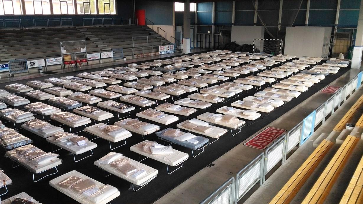 San Severino Marche, 350 senza casa. Ospedale completamente funzionante