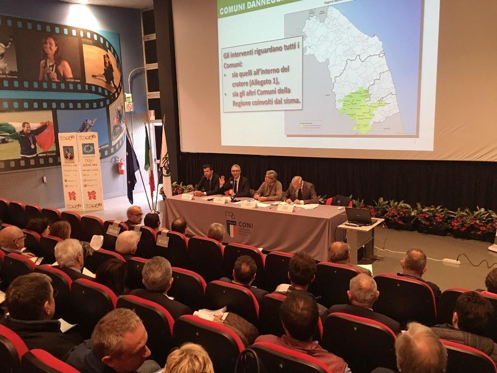 Regione, insediato il Comitato istituzionale per la ricostruzione post sisma
