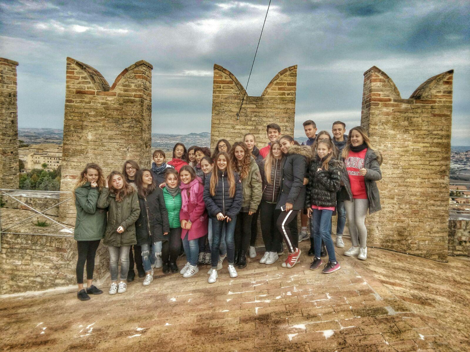 Recanati, curiosità per gli studenti-guida sulla Torre del Borgo