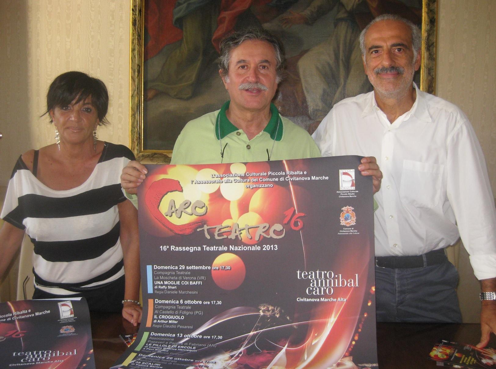"""Civitanova Marche, secondo spettacolo della rassegna """"Caro Teatro"""""""