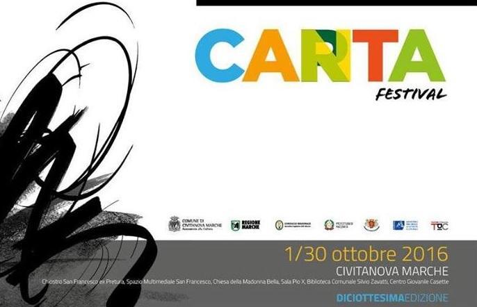 Gli appuntamenti di CartaCanta Festival 2016