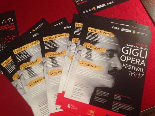 Recanati, lirica al Teatro Persiani con il Gigli Opera Festival