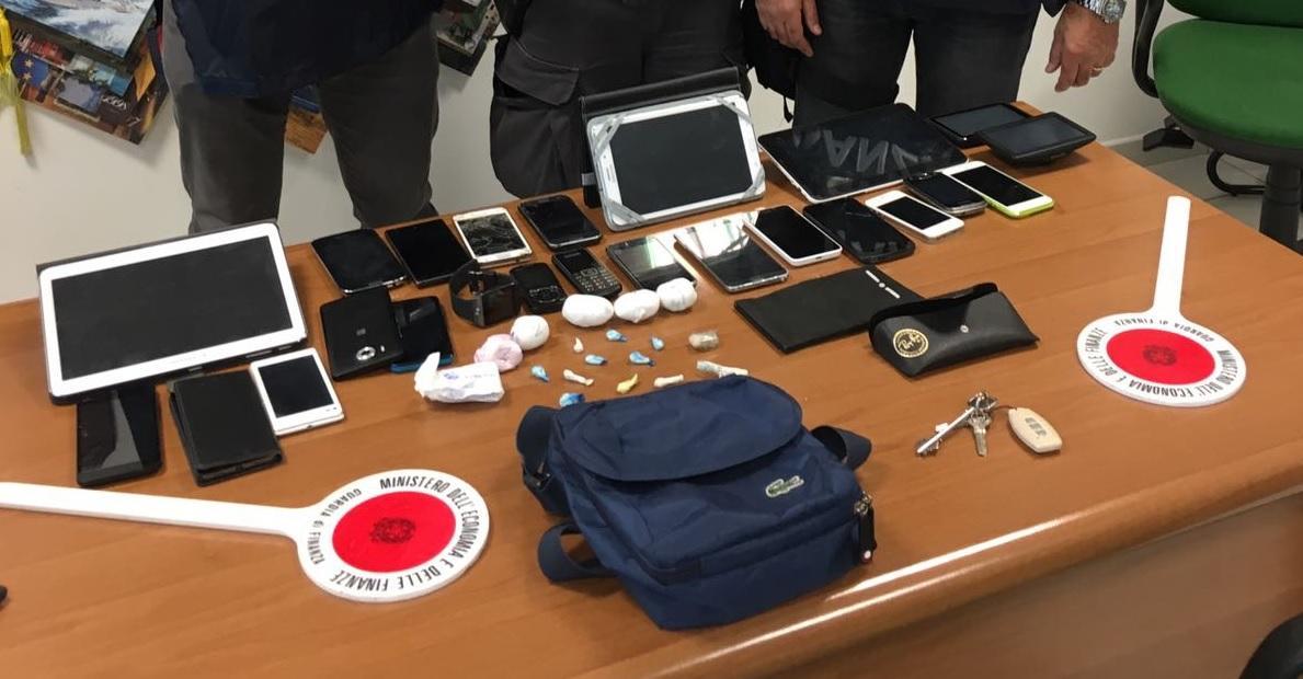 Operazioni della Guardia di Finanza contro lo spaccio di stupefacenti