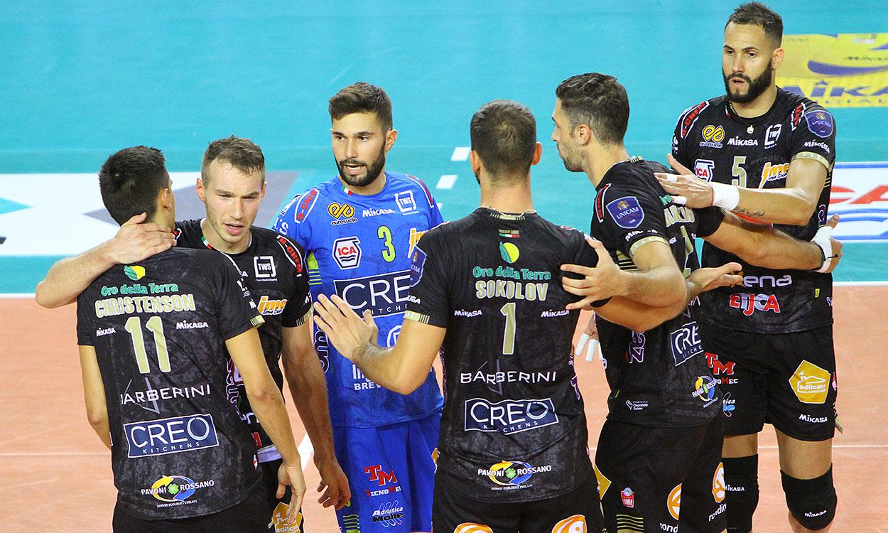 SuperLega Volley, Lube in campo domenica a Latina