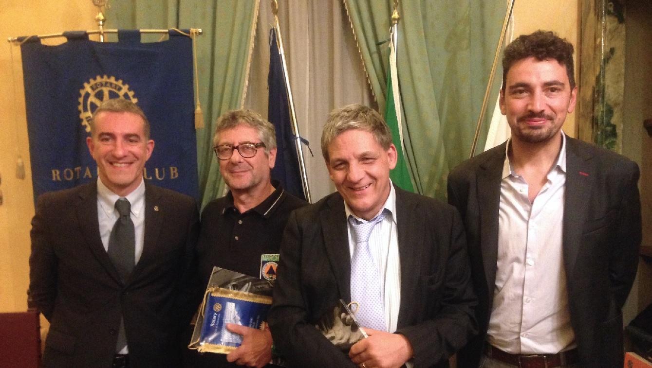 Il Rotary Club di Macerata per il sostegno alle popolazioni terremotate