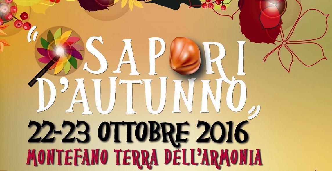 """A Montefano il meglio della stagione con """"Sapori d'Autunno"""""""