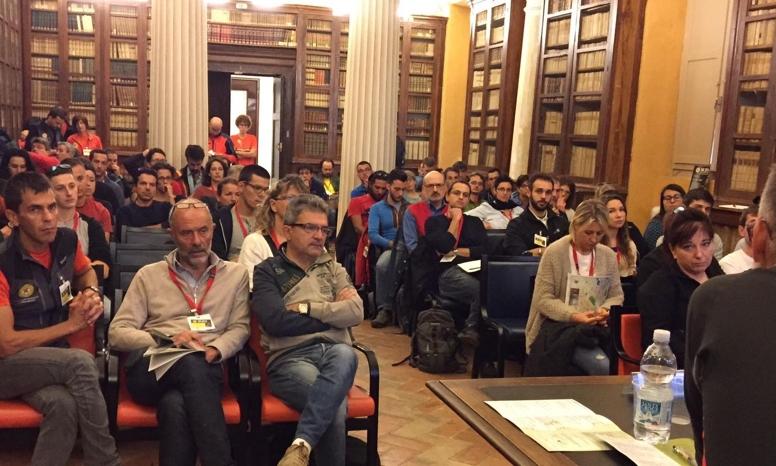 A Macerata Congresso nazionale del Corpo di Soccorso Alpino e Speleologico