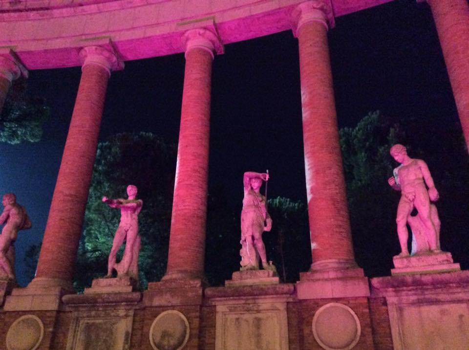 Rotary Matteo Ricci, un progetto di luce per valorizzare il monumento ai caduti