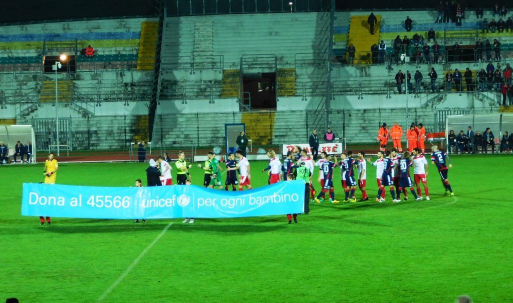 Maceratese, solo un punto con Forlì. Spalletta incoraggia la squadra