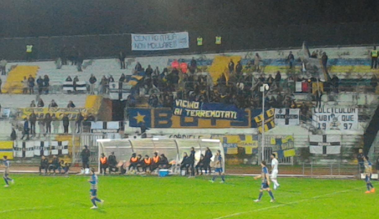 Maceratese-Parma 0-0. Punto prezioso e meritato, vincono i tifosi