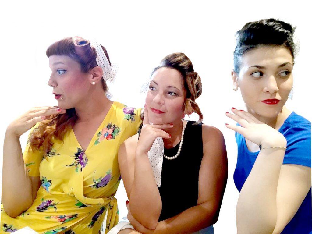 Cats eyes ladies trio