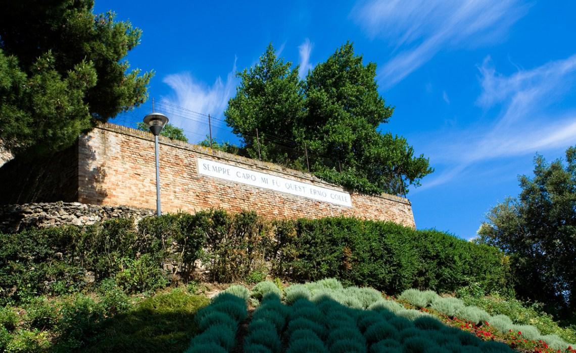 Colle dell'Infinito a Recanati, Ministero dell'Ambiente finanzia riqualificazione