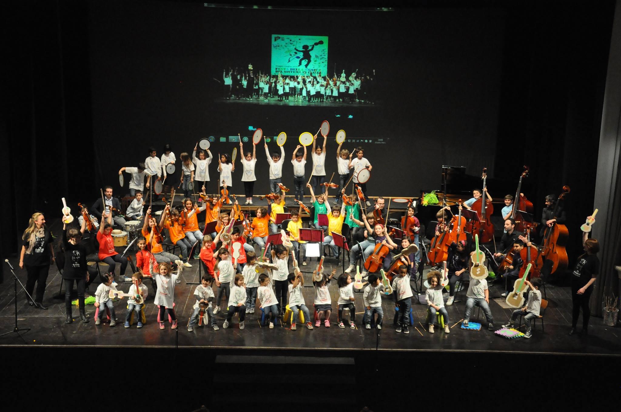 Scuola Civica di musica, inaugurazione anno scolastico e concerto El Sistema