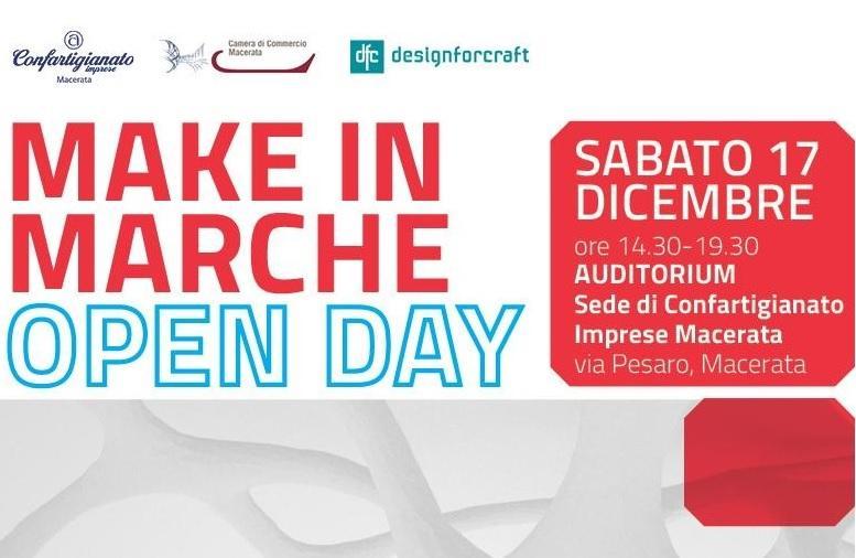 Make in Marche Open Day, innovazione digitale alla Confartigianato di Macerata