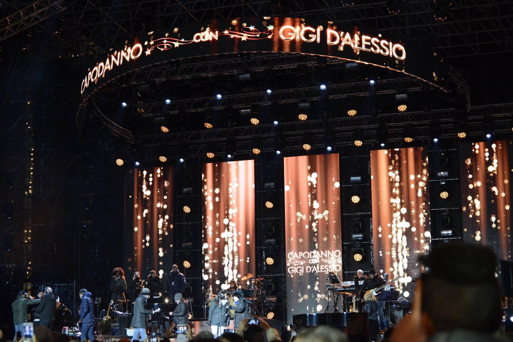 Civitanova Marche, capodanno in diretta Canale 5 con Gigi D'Alessio & Friends