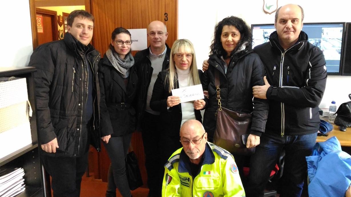 San Severino Marche: aiuti dalla Lombardia, sospesi pagamenti dei tributi