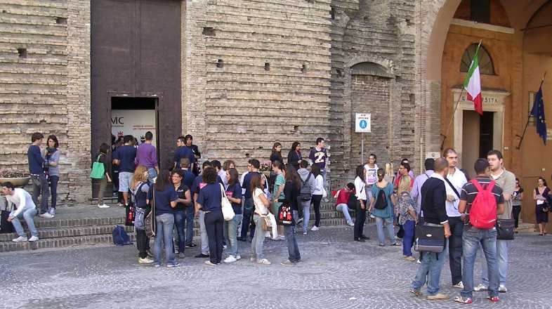 Gli studenti dell'Università di Macerata eleggono i propri rappresentanti