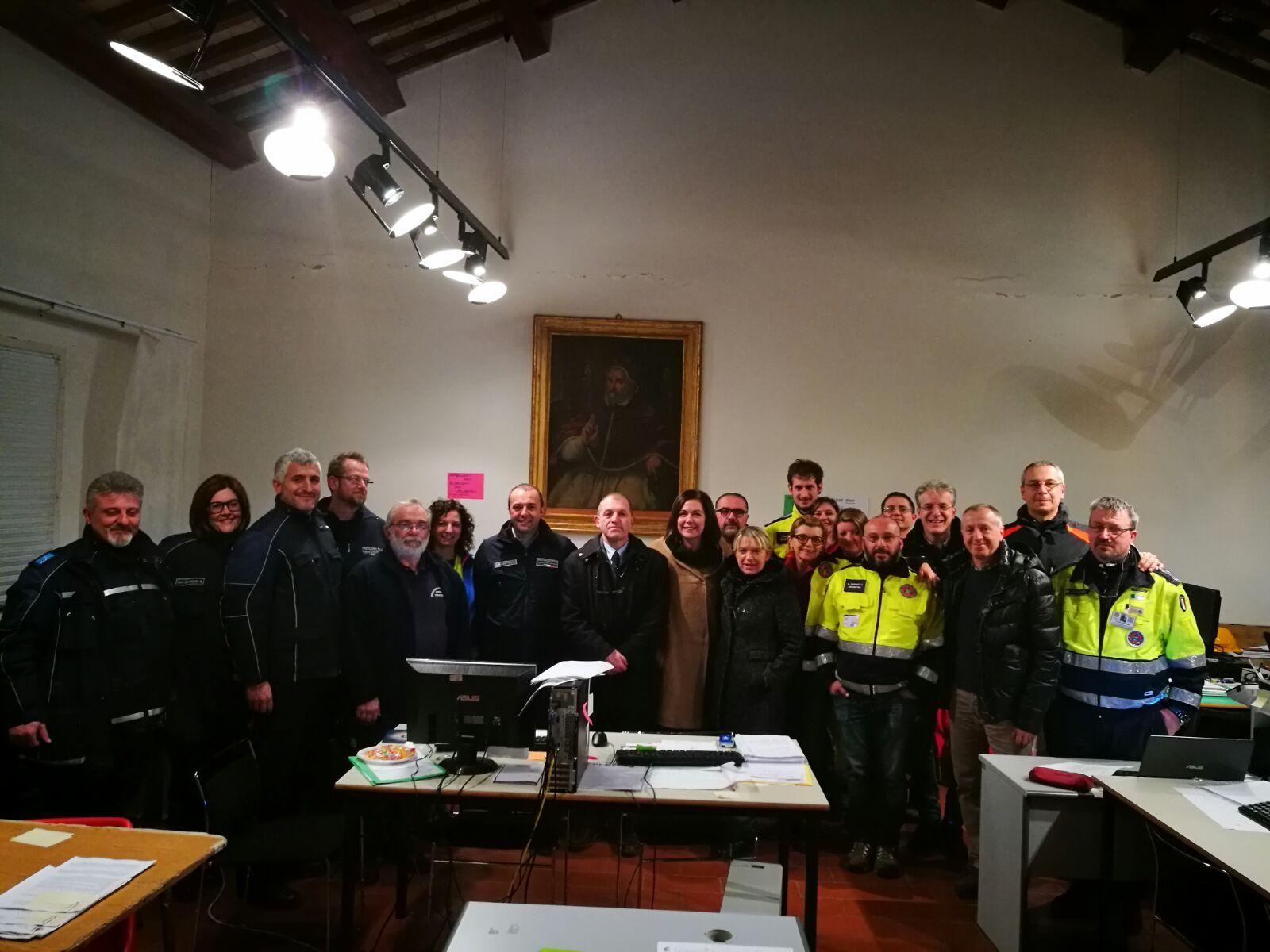 Nuova visita a San Severino Marche dei vertici della Regione Emilia Romagna