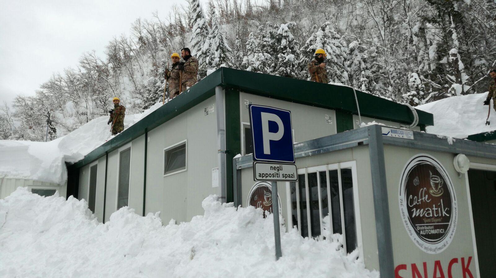 Neve e sisma: utenze Enel quasi normalizzate, frazioni tutte assistite